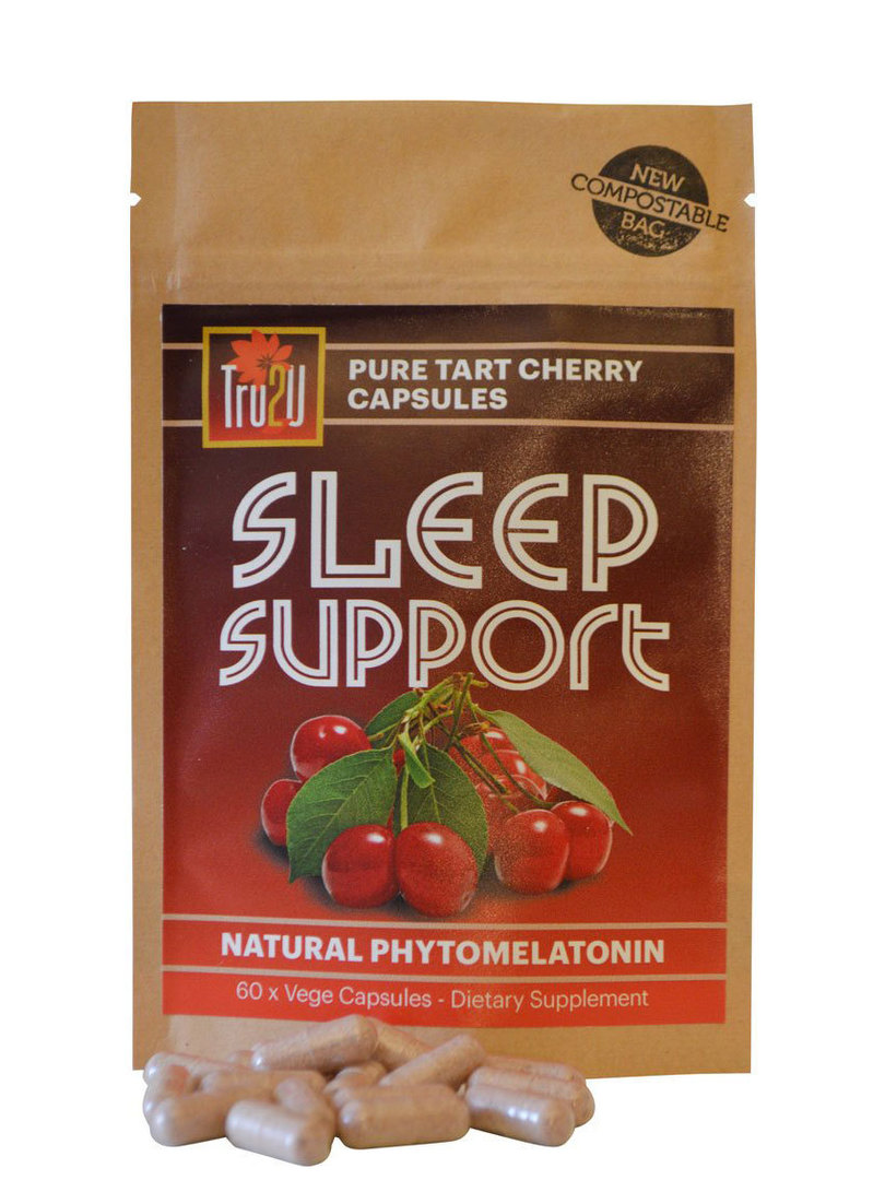 Tru2U Sleep Support Pure Tart Cherry, 60 Capsules image 0