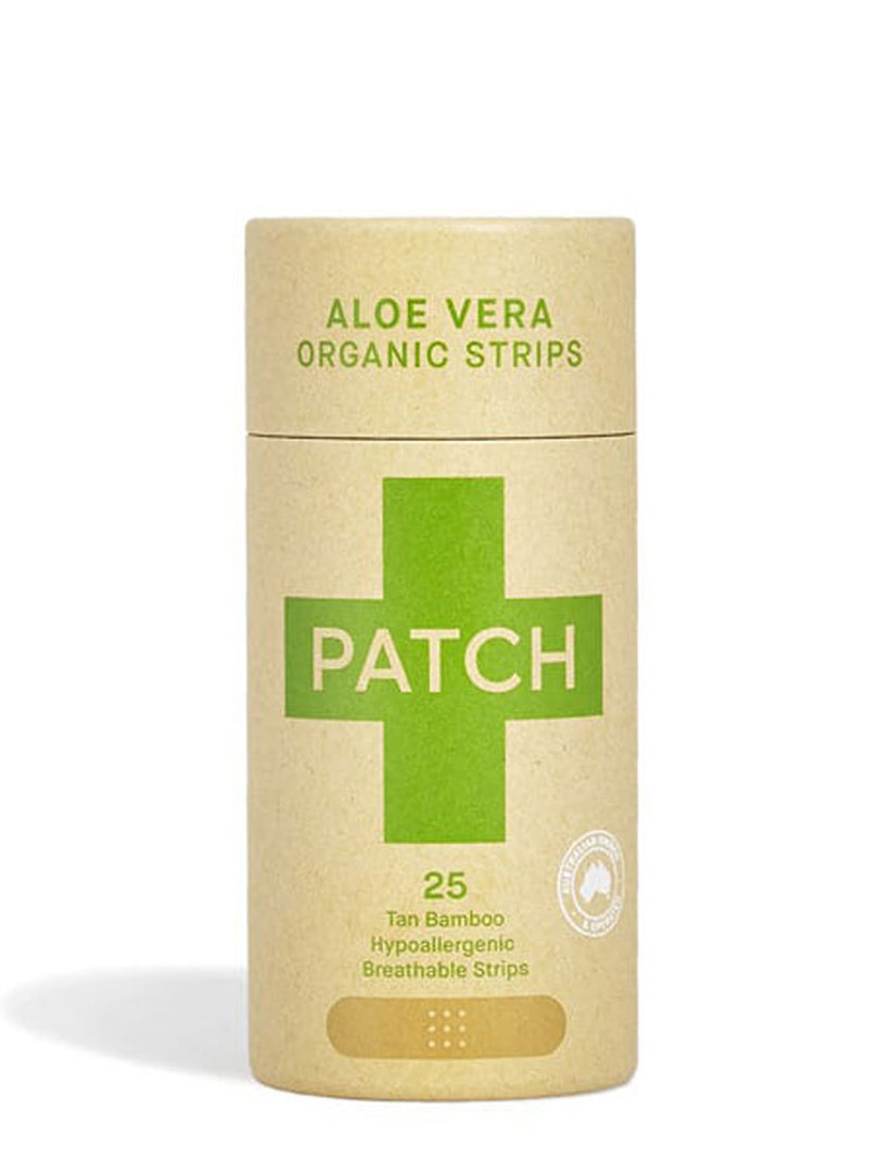 Patch Aloe Vera Bamboo Plaster Strips, 25 tube image 0