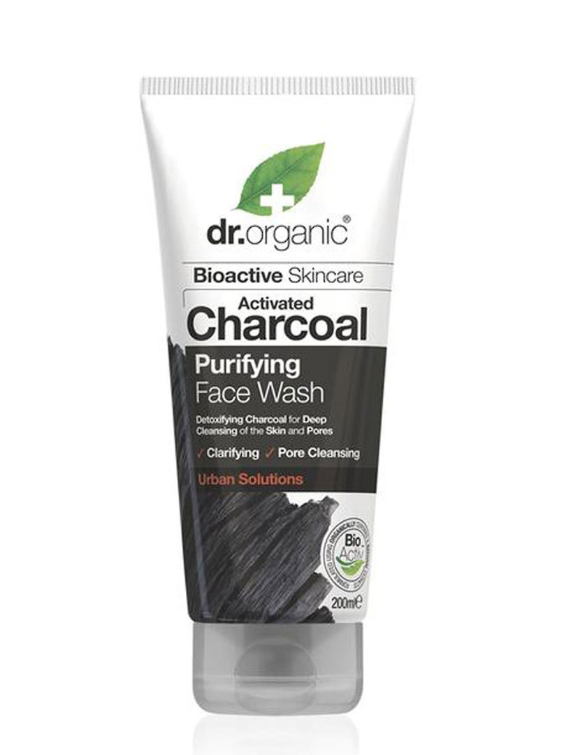 Dr. Organic Charcoal Purifying Face Wash, 200ml image 0