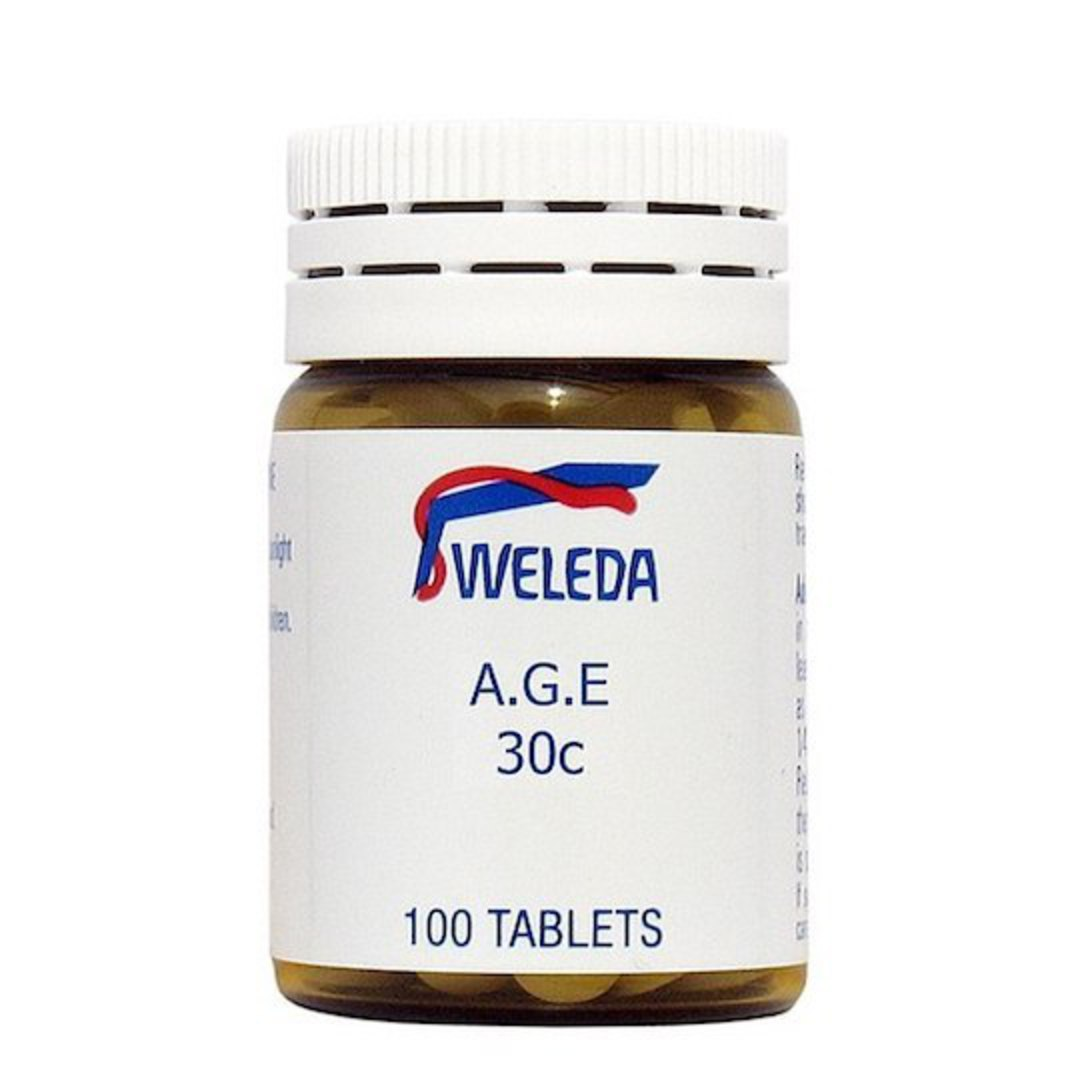 Weleda A.G.E 30c, 100 tablets or 30ml drops image 0