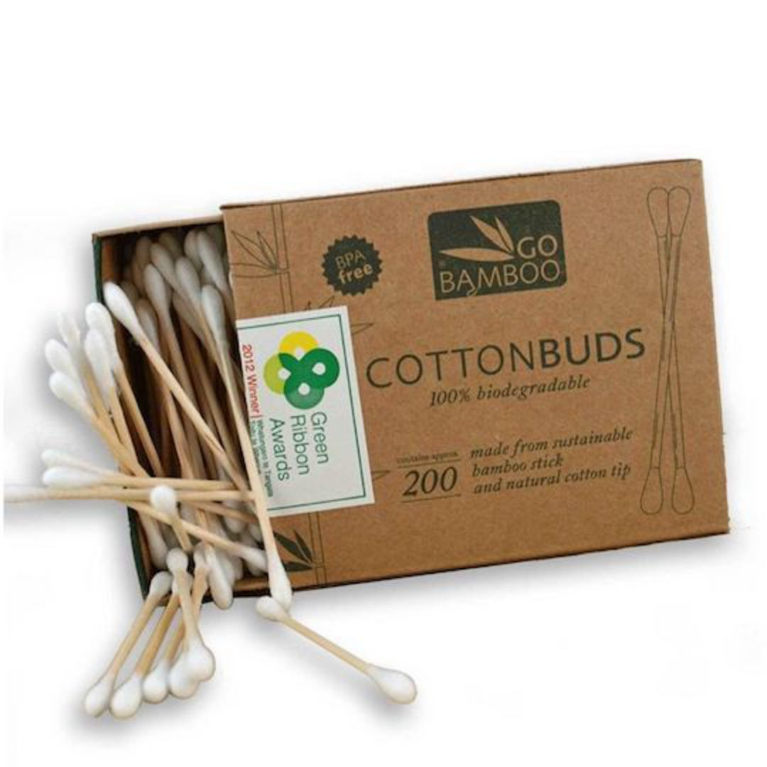 Go Bamboo - Cotton Buds image 0