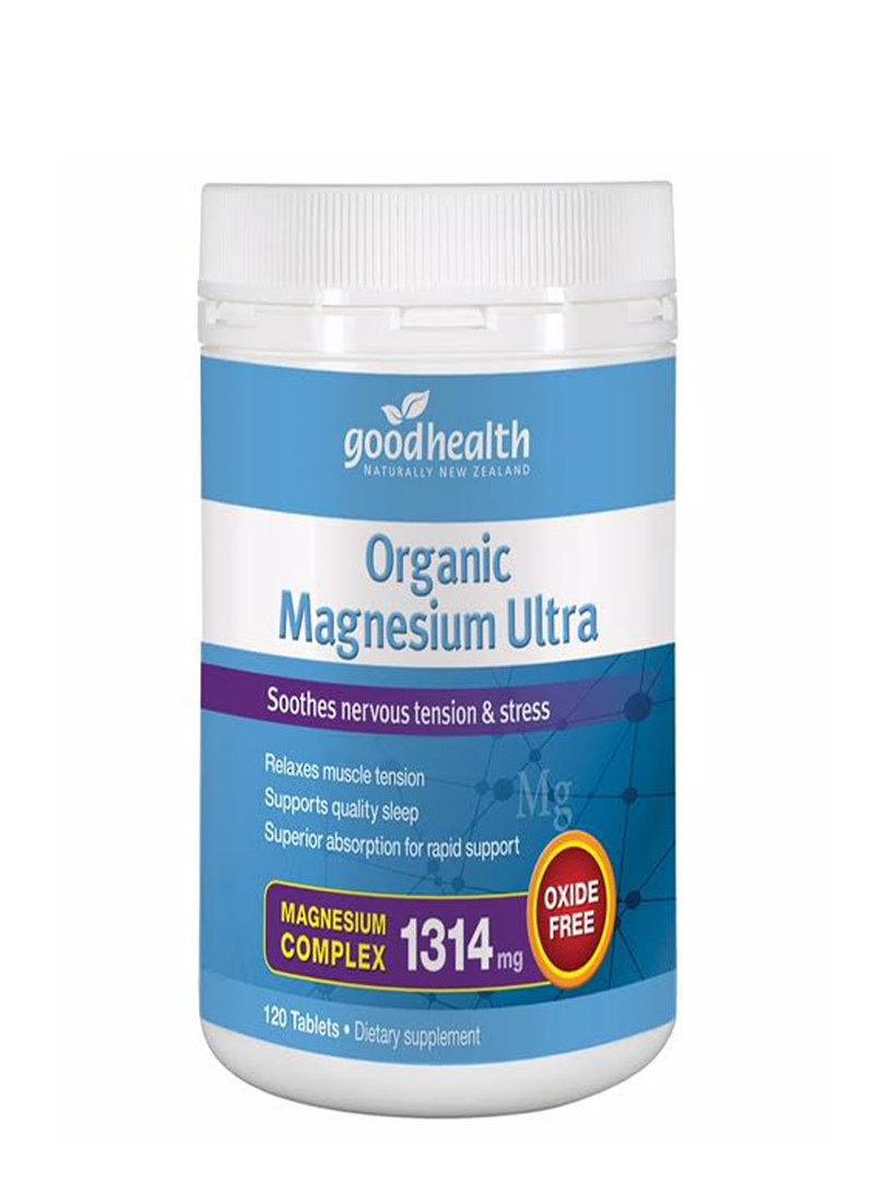 Good Health Organic Magnesium Ultra, 60 Tablets image 0
