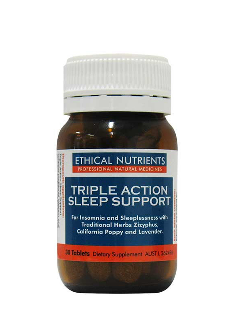 Ethical Nutrients Triple Action Sleep Support, 30 Tablets image 0