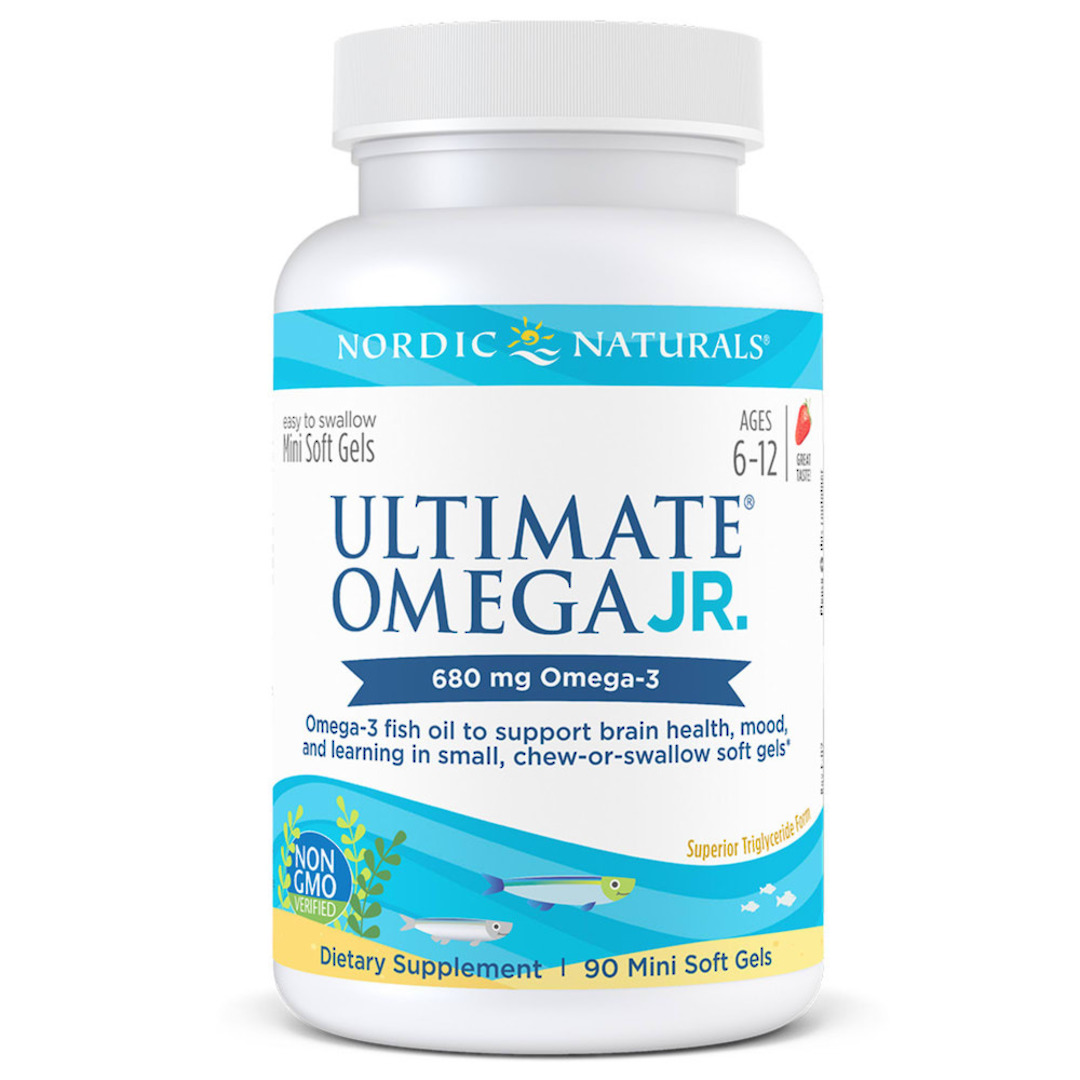 Nordic Naturals Ultimate Omega Junior (90 strawberry soft gels, ages 6-12) image 0