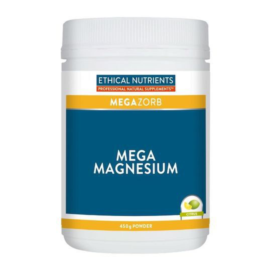 Ethical Nutrients Mega Magnesium, 450g Powder image 1