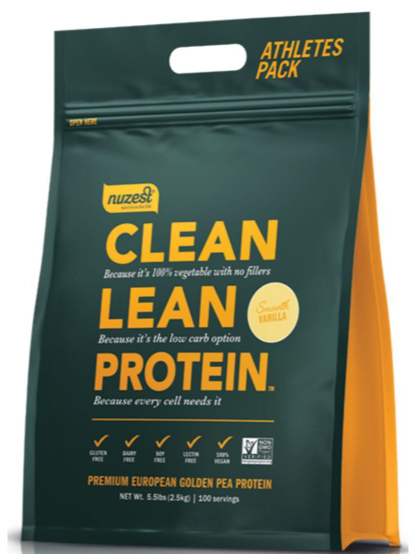 NuZest Clean Lean Protein, Smooth Vanilla or Rich Chocolate,  2.5kg pouch image 0