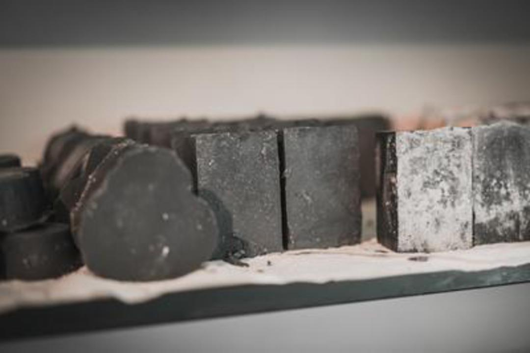 SNS Charcoal Soap Bar image 0