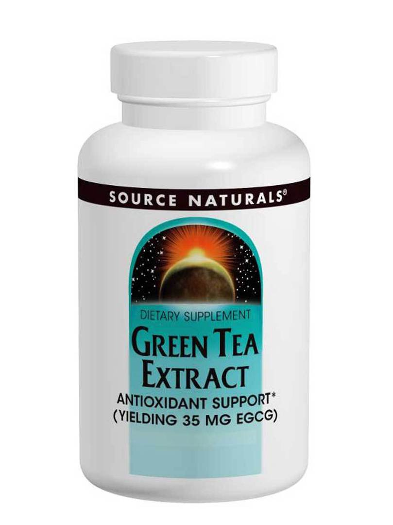 Source Naturals Green Tea Tablets (120) use by end 05/21 image 0