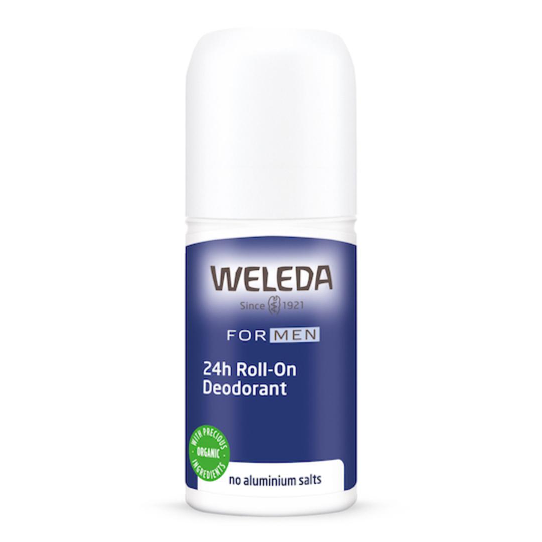 Weleda Men's 24hr Roll-On Deodorant, 50ml image 0