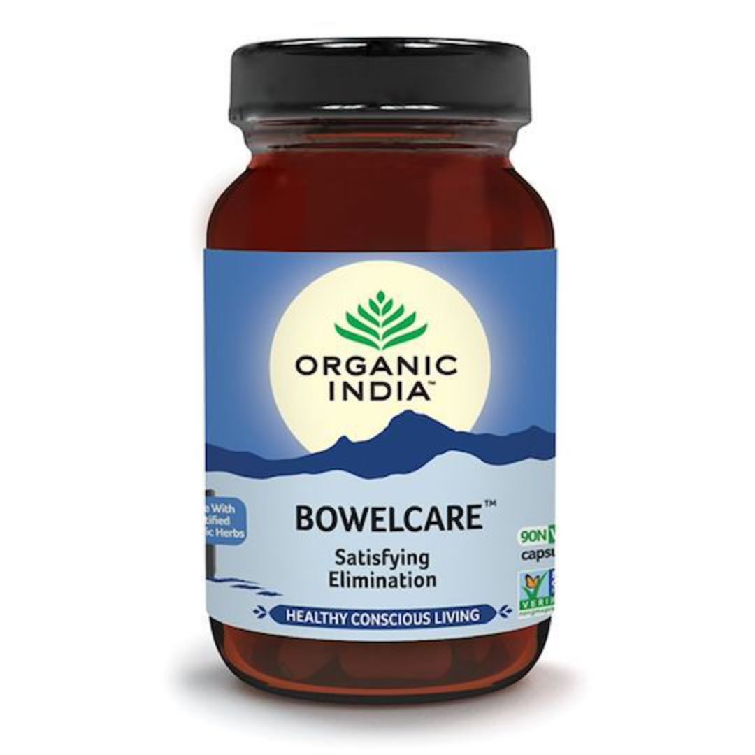 Organic India Bowel Care, 90 Capsules image 0