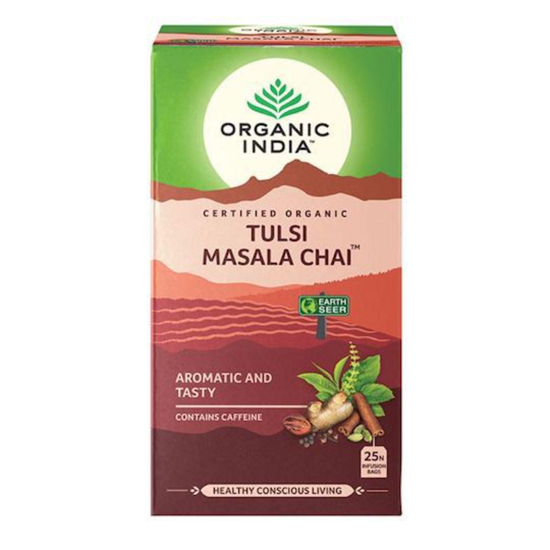 Organic India Tulsi Masala Chai, 25 tea bags image 0