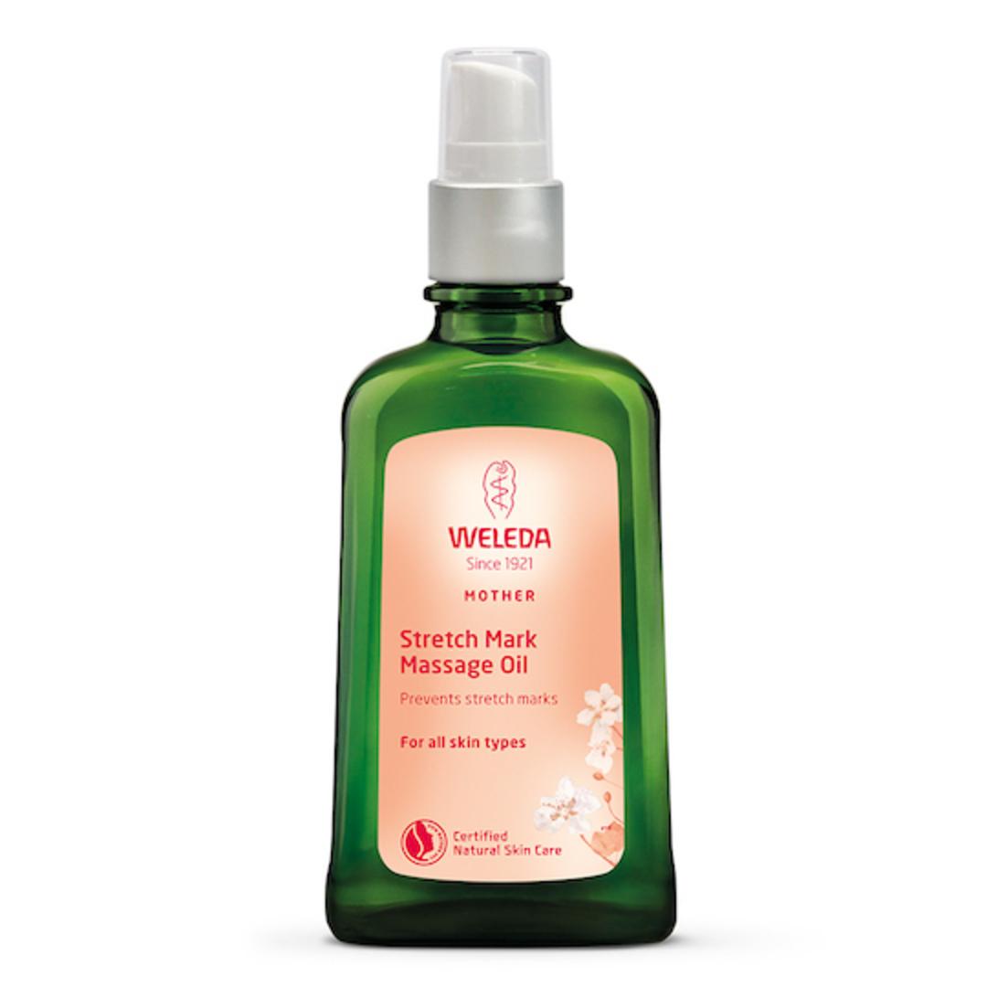 Weleda Stretch Mark Massage Oil,100ml (Pregnancy Body Oil) image 0