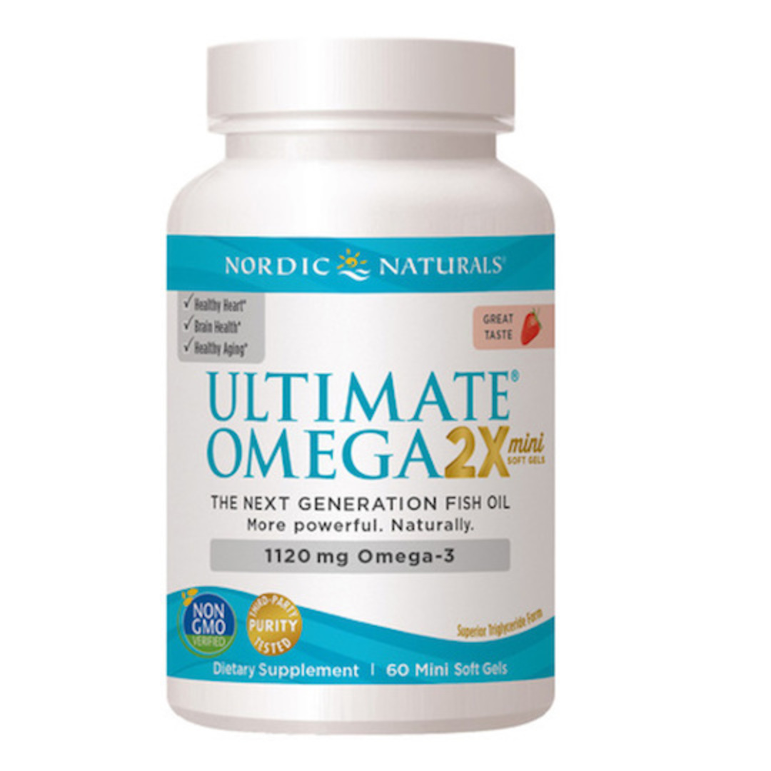 Nordic Naturals Ultimate Omega 2X ,  Minis, 60 Soft Gels image 0
