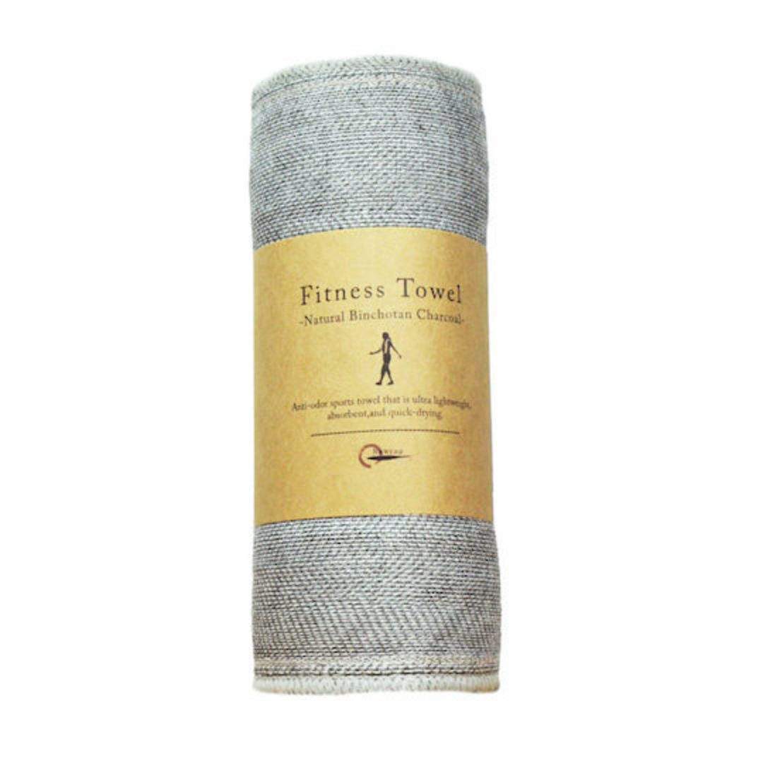 Nawrap Binchotan Fitness Towel (Charcoal) image 0