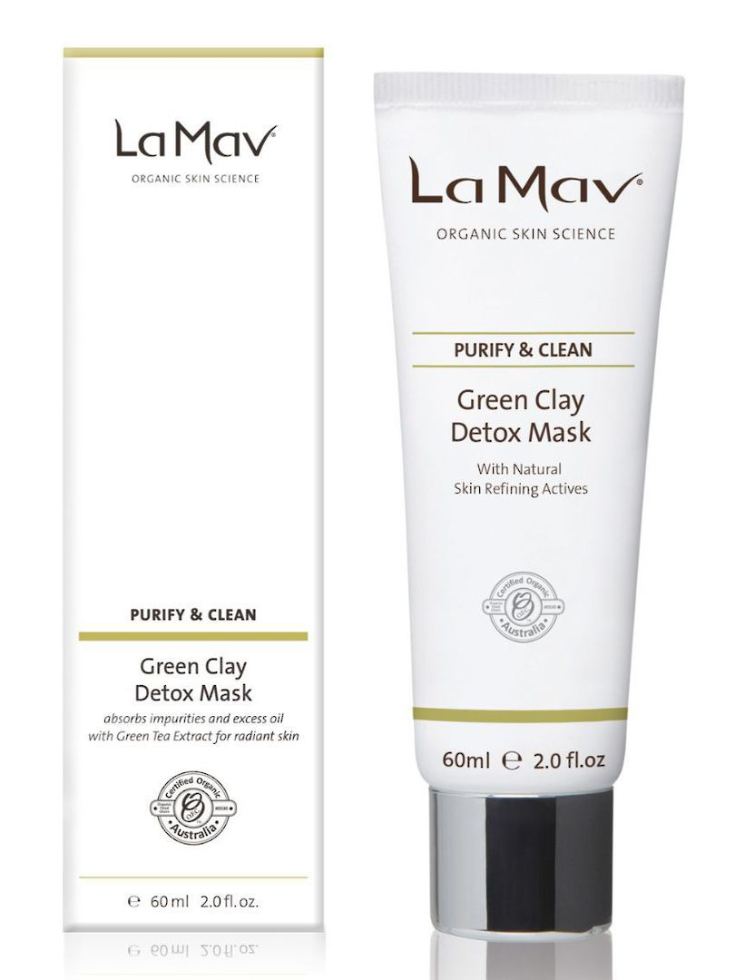La Mav Green Clay Detox Mask, 60ml image 0