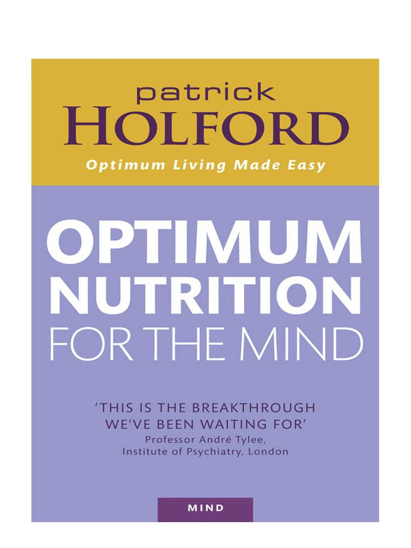 Optimum Nutrition for the Mind by Patrick Holford image 0