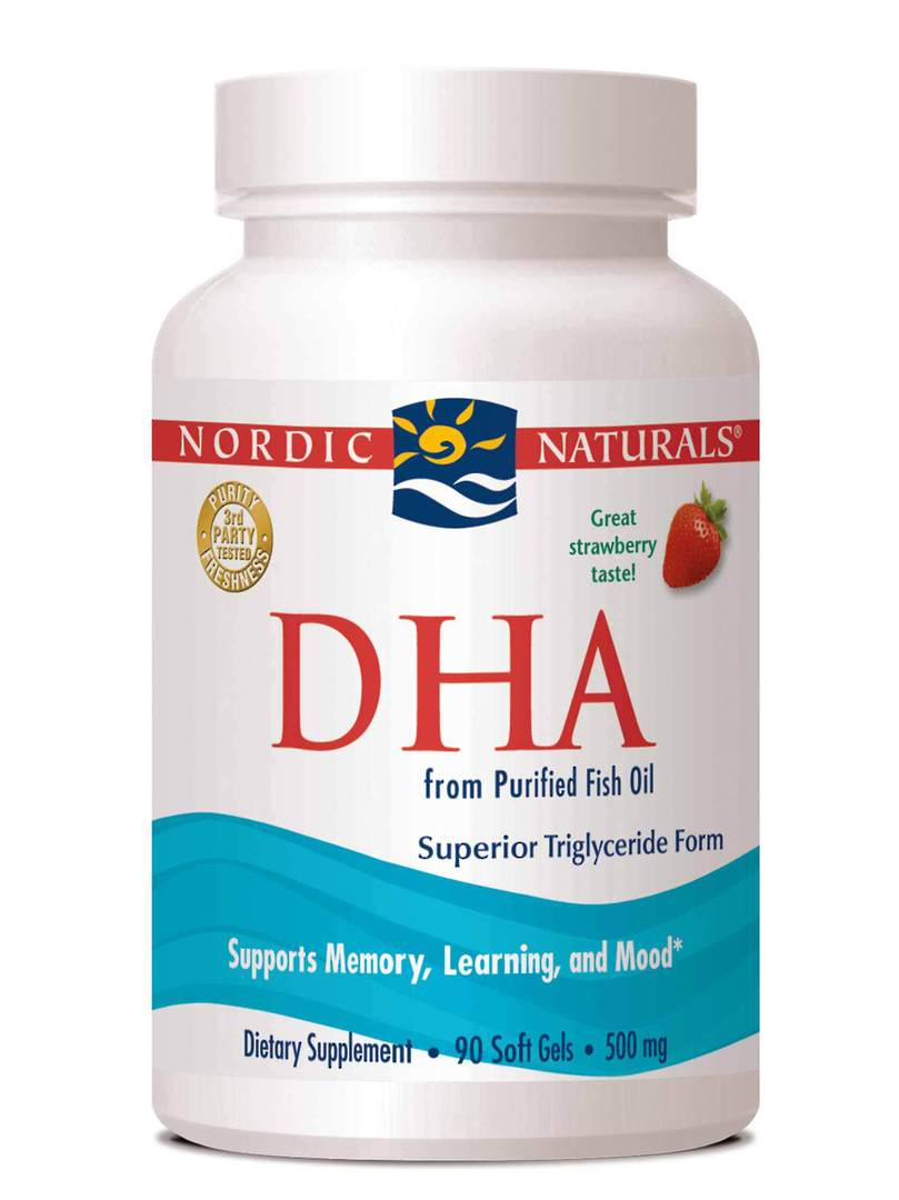 Nordic Naturals DHA (90 soft gels) image 0