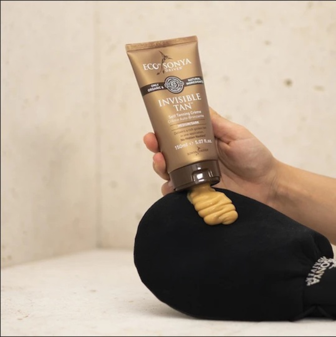 Eco Tan Luxurious Double Sided Tan Applicator Mitt image 2