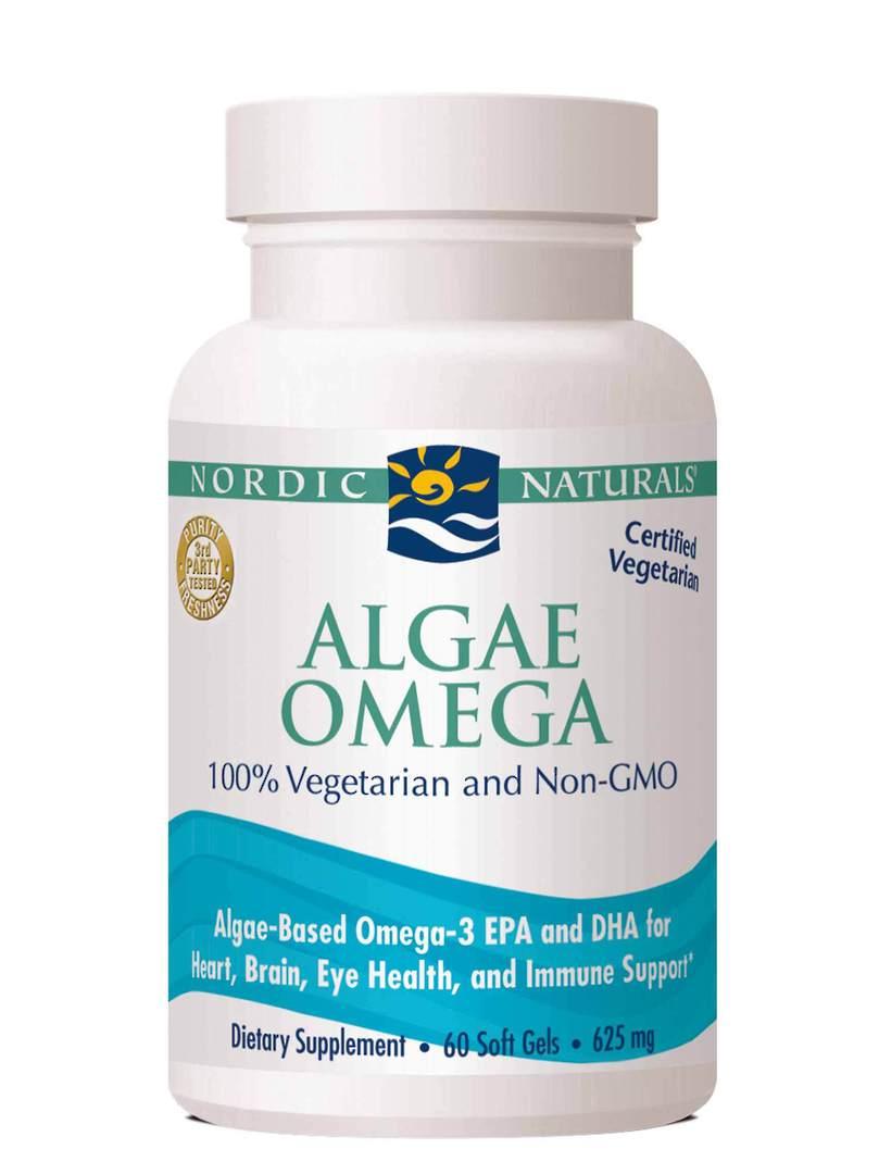 Nordic Naturals Algae Omega (60 soft gels) - Vegetarian image 0