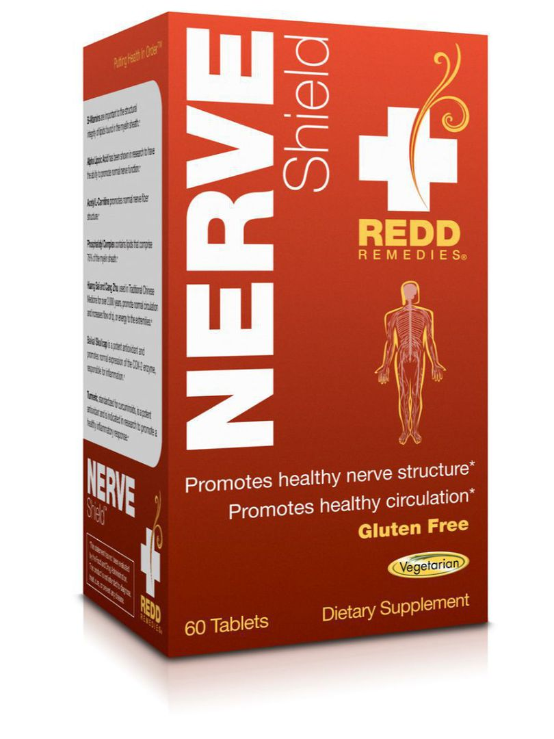 Redd Remedies Nerve Shield, 60tabs AVAILABLE NOW image 0