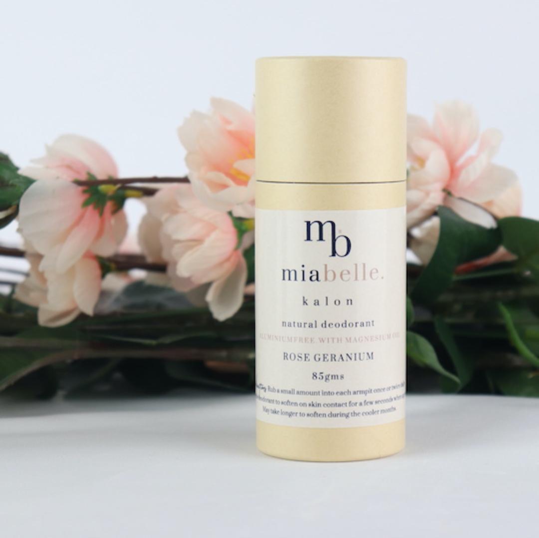 Mia Belle Magnesium Oil Deodorant Tube, 85g image 0