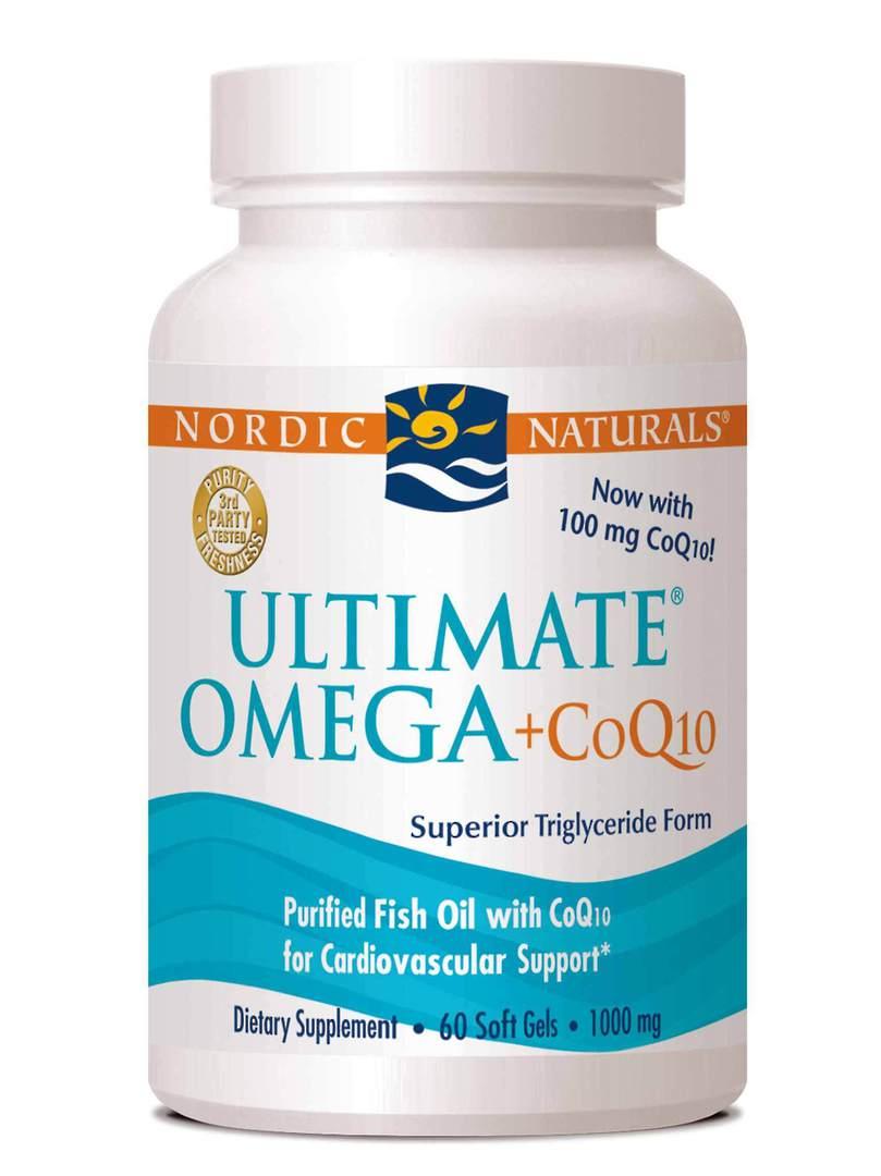 Nordic Naturals Ultimate Omega + CoQ10 (60 soft gels) image 0