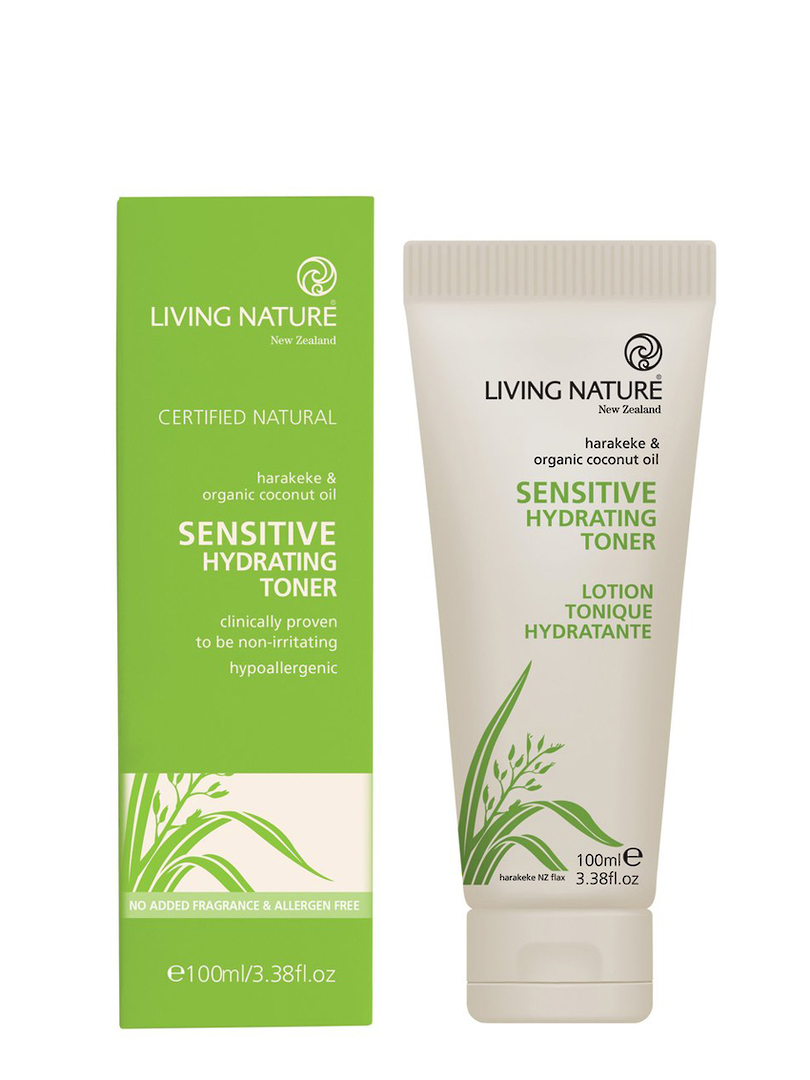 Living Nature Sensitive Hydrating Toner, 100ml image 0