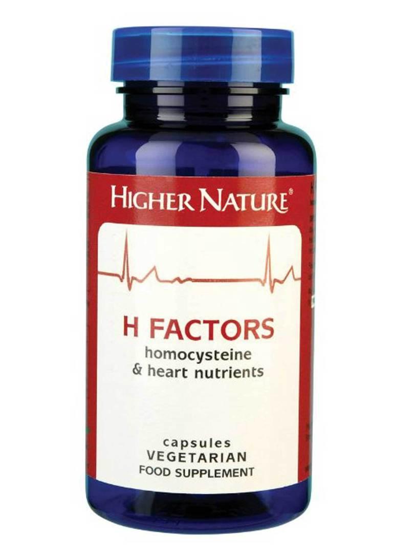 Higher Nature H Factors, 180 Capsules image 0