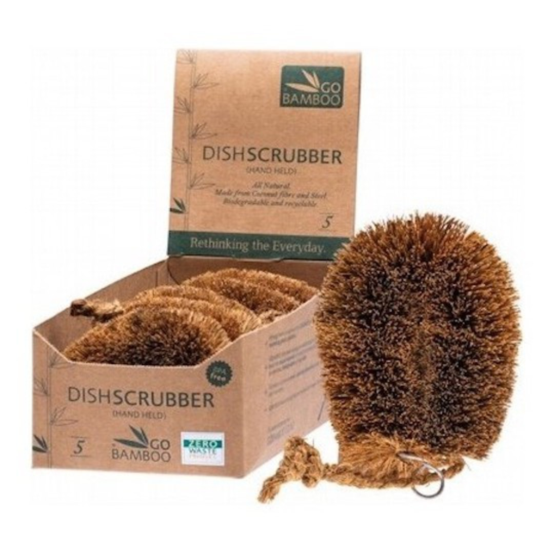 Go Bamboo - Dish Scrubber image 0