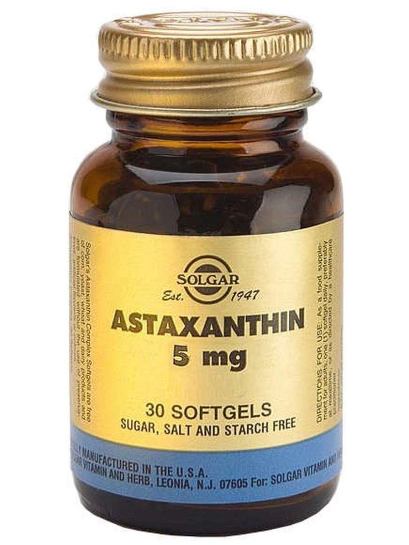 Solgar Astaxanthin 5mg, 30 Softgels image 0