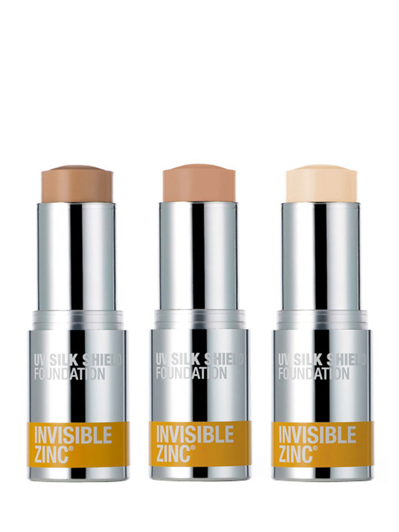 Invisible Zinc UV Silk Shield Foundation Tinted 15g (No longer available but we have found a replacement product) image 1