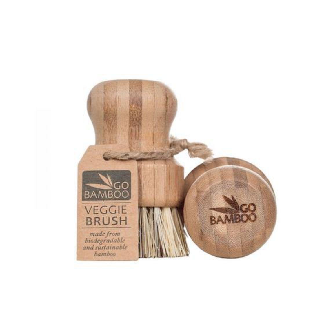 Go Bamboo - Veggie Brush image 0
