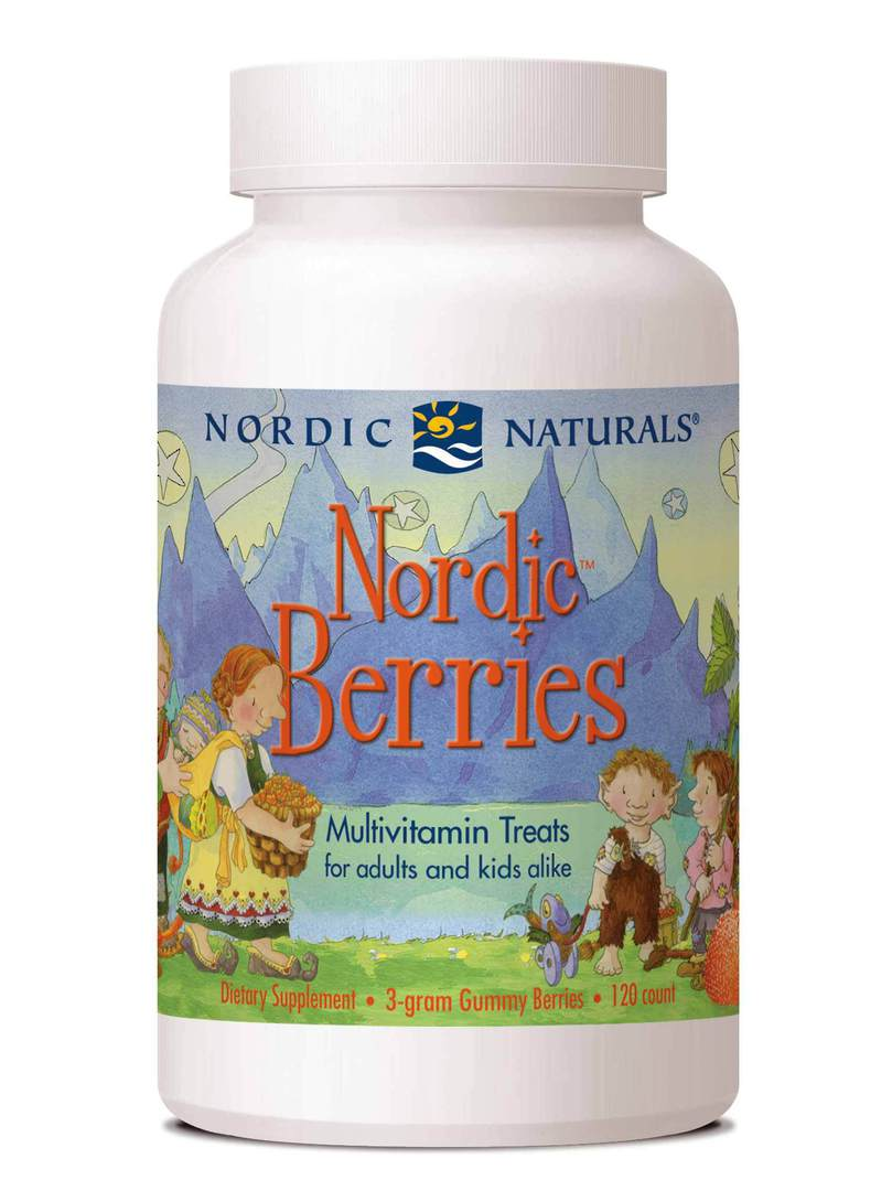 Nordic Naturals Berries Multivitamin (120 chews for ages 2+) image 0