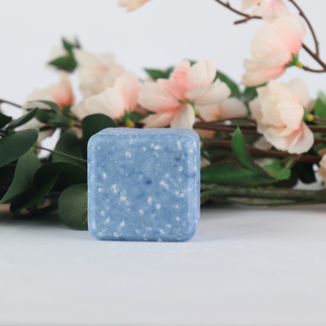 Mia Belle Blue Shampoo Bar, 95g image 0