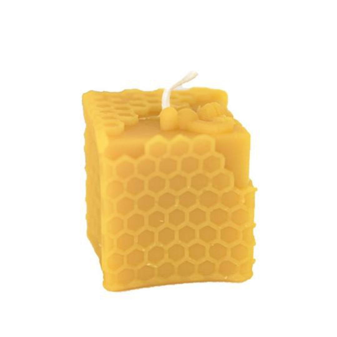 Hexton Bee Company Honeycomb Cube Candle image 0