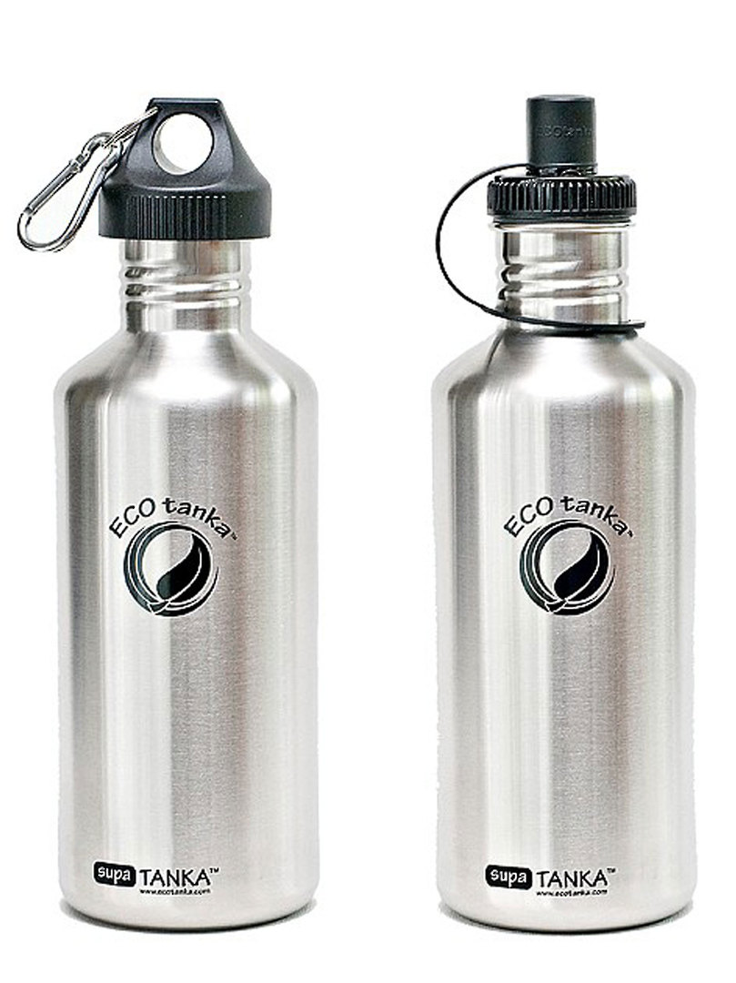 ECOtanka Supa Tanka 1.2L (FREE Kooler Cover just request when ordering - (grey or dark green) image 0