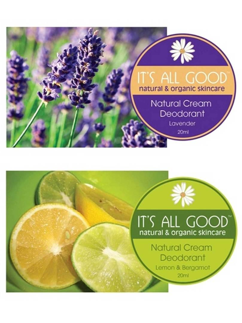 It's All Good Natural Deodorant, Cyprus & Lemon, 30gm (best before Oct 21) image 0