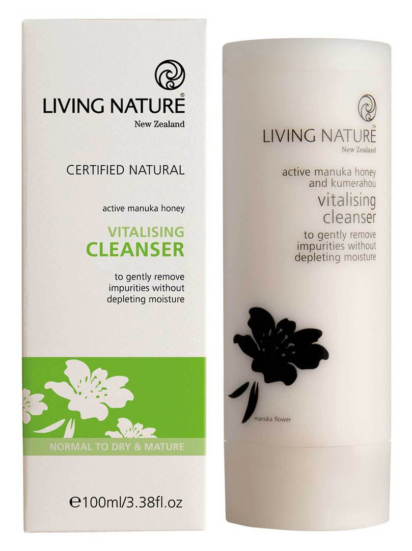 Living Nature Vitalising Cleanser, 100ml image 0