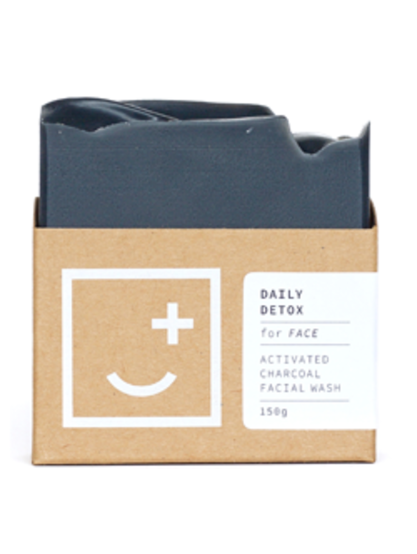 Fair and Square Soapery Daily Detox Soap, 150g image 0