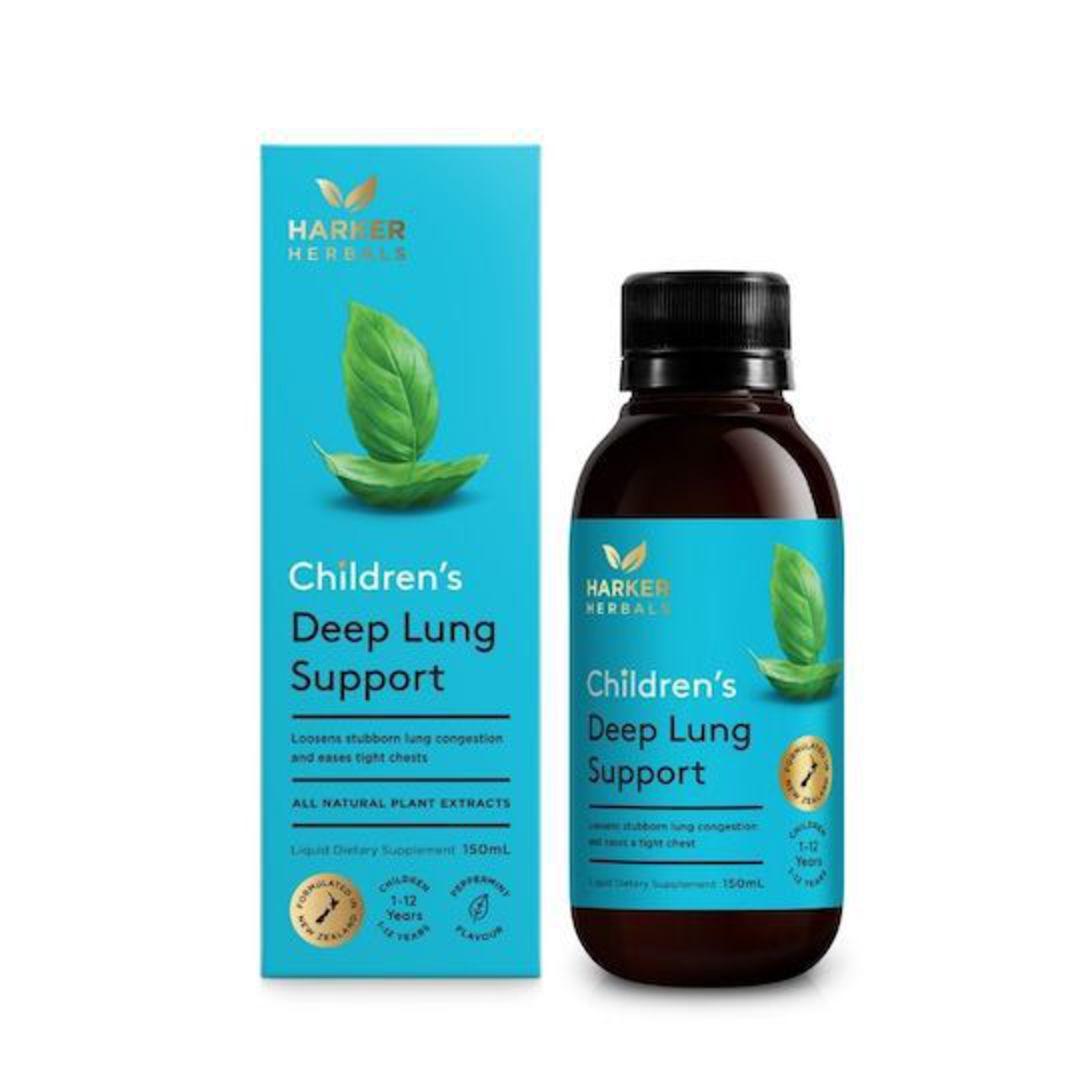 Harker Herbals Children's Deep Lung Support, 150ml image 0