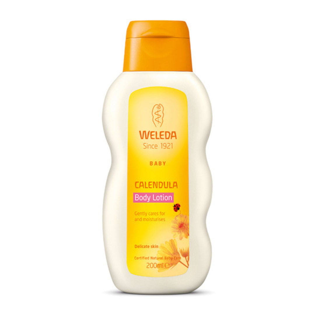Weleda Calendula Baby Body Lotion, 200ml image 0
