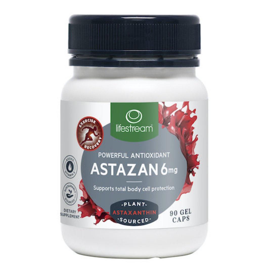 Lifestream Astazan 6mg,  30, 60 or 90 Capsules image 0