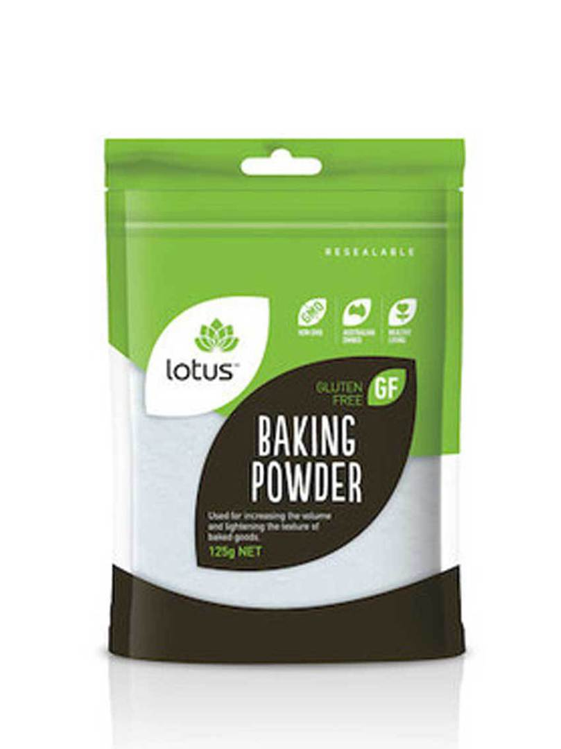 Lotus Baking Powder Aluminium Free, 125g image 0