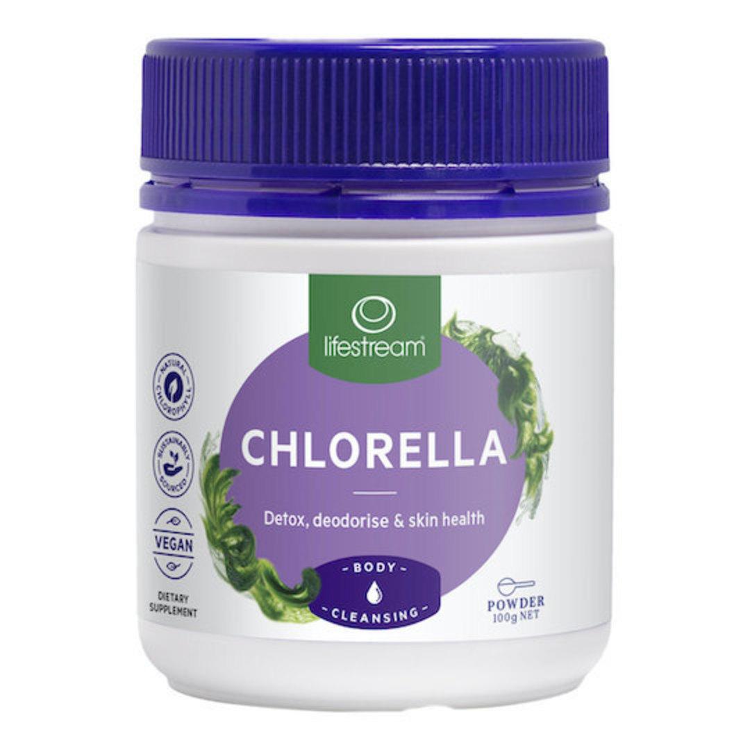Lifestream Chlorella, 100g Powder image 0