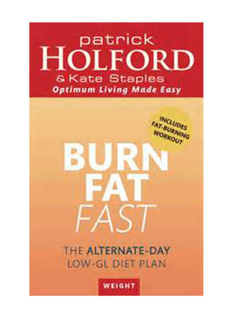 Burn Fat Fast by Patrick Holford image 0