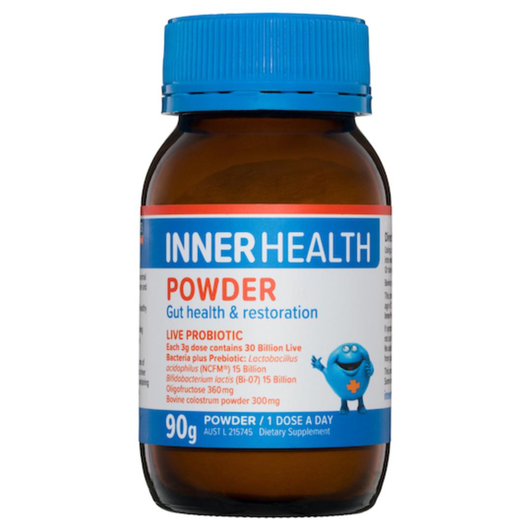 Inner Health Powder, Gut Health & Restoration, 90g (best before end 07/21) image 0