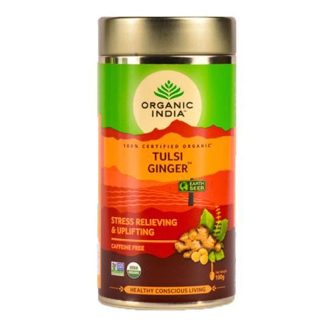 Organic India Ginger, 100g loose leaf tea image 0