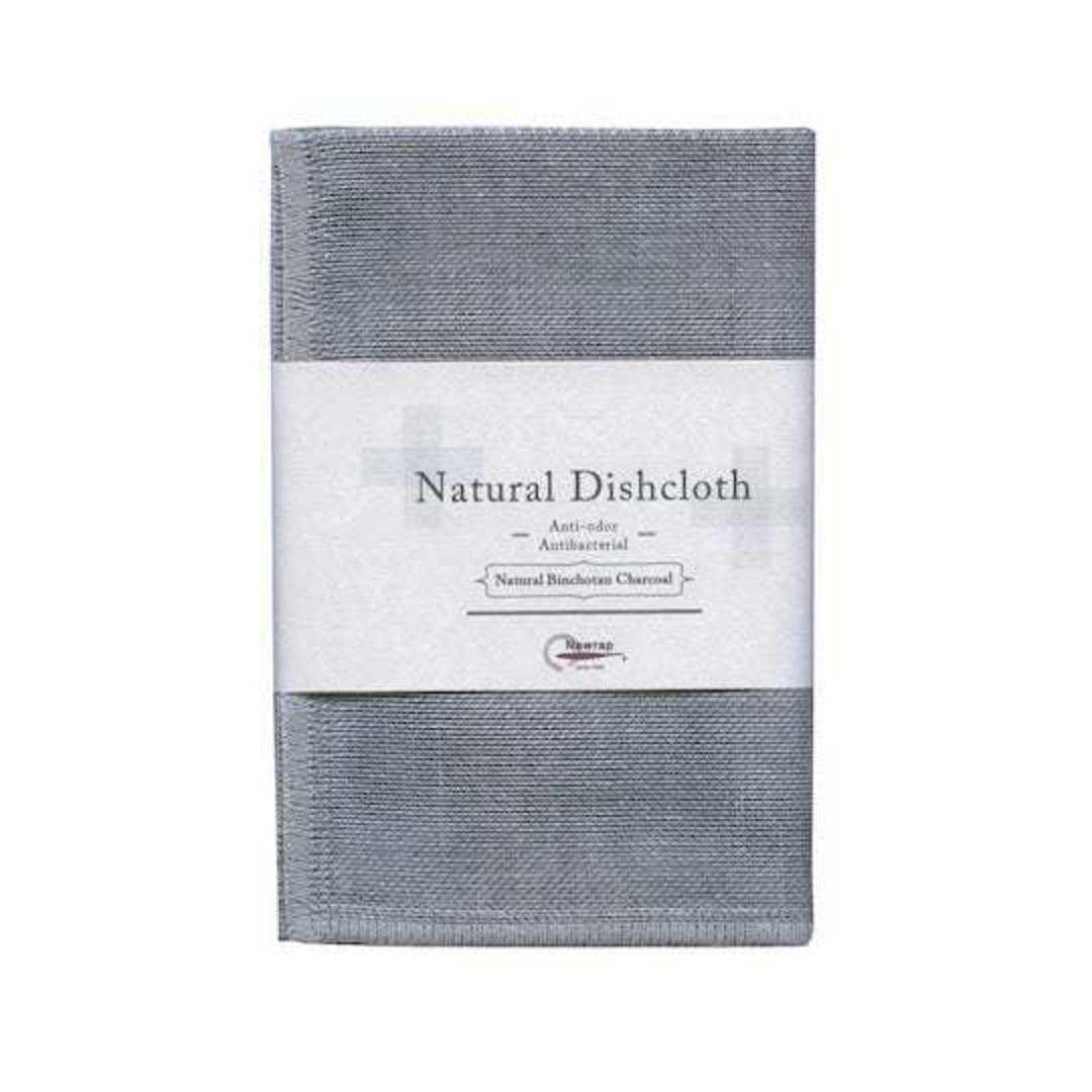 Nawrap Binchotan Dishcloth, Charcoal or Linen colour image 0