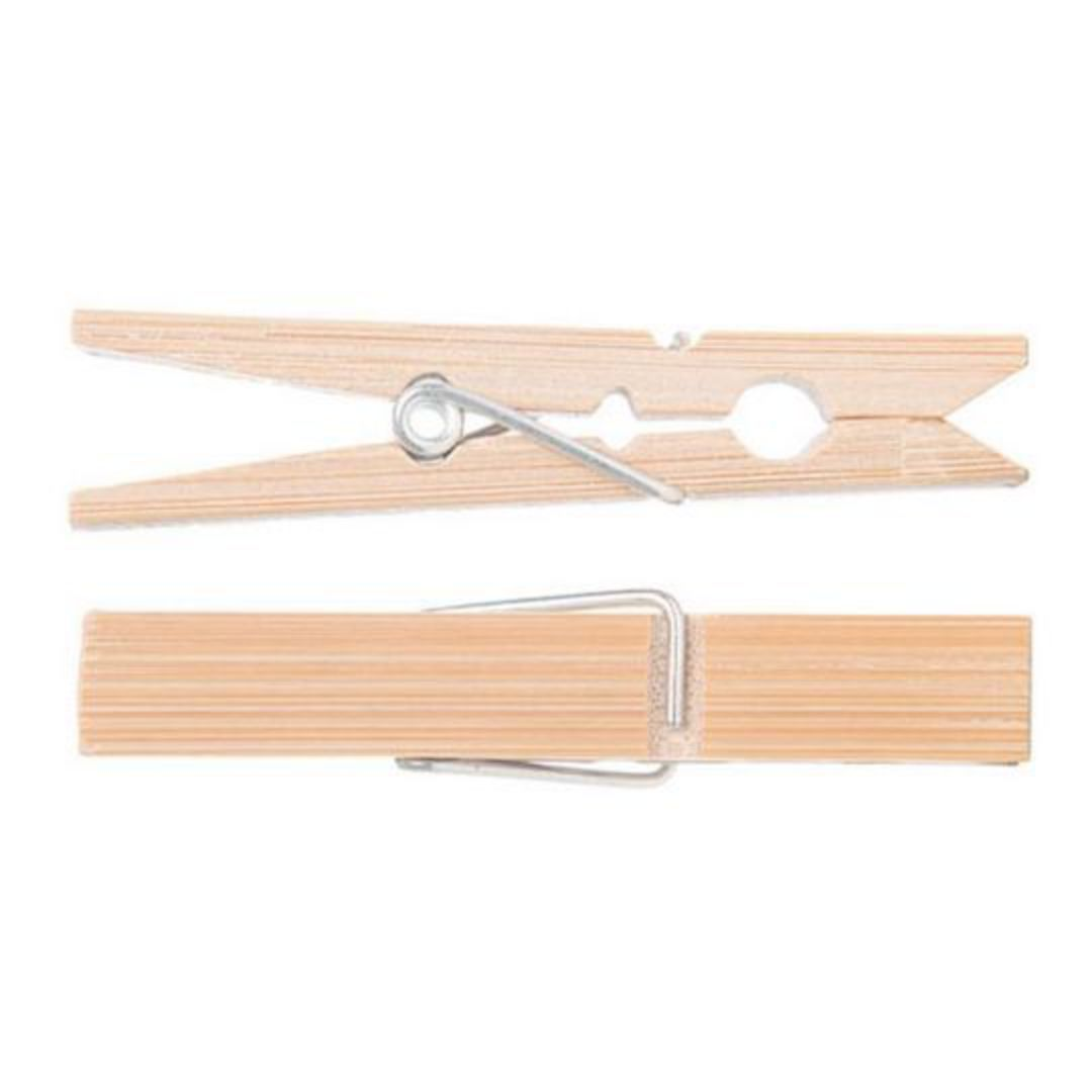Go Bamboo - Clothes Pegs image 1