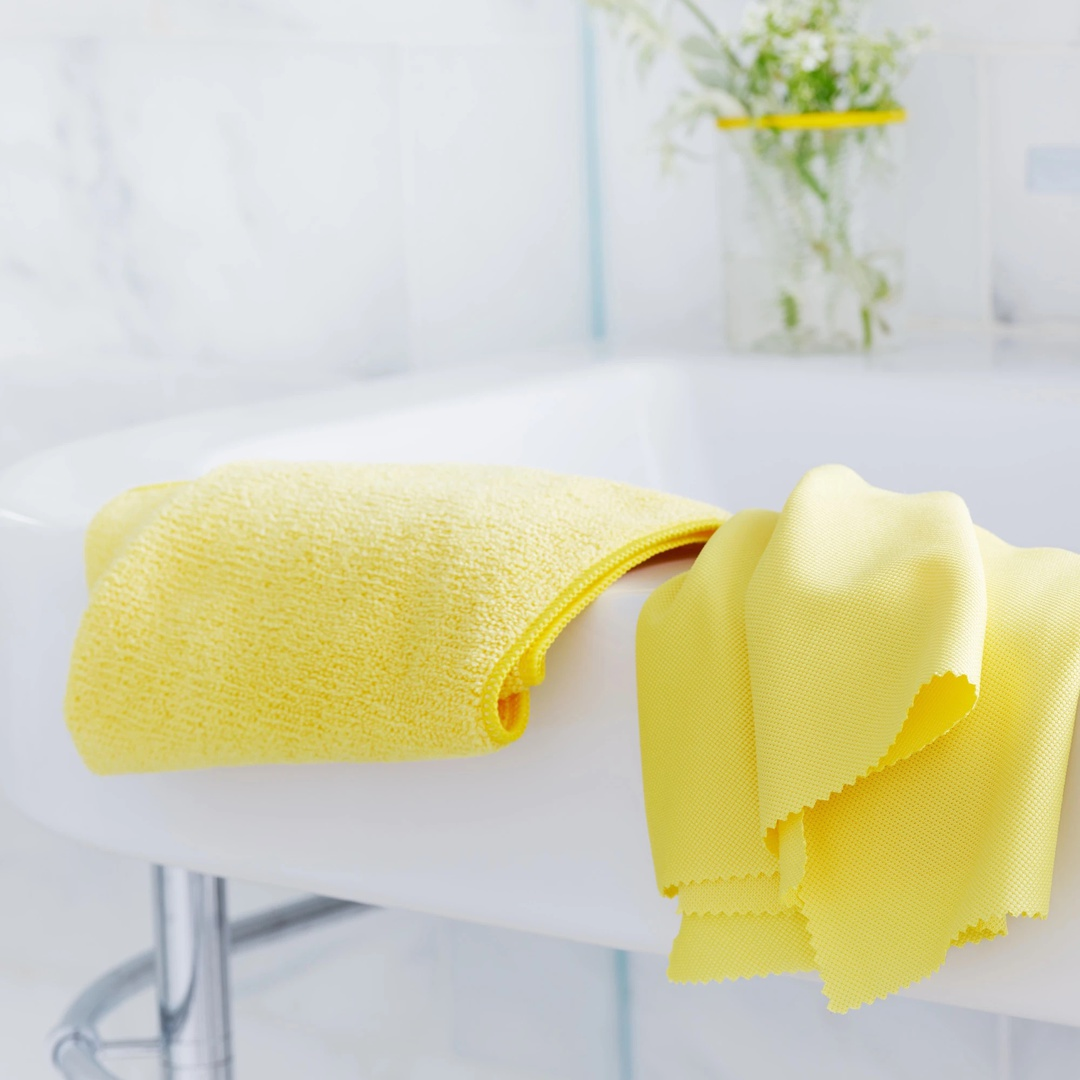 E-Cloth Bathroom Cleaning Cloths (2 pack) image 1